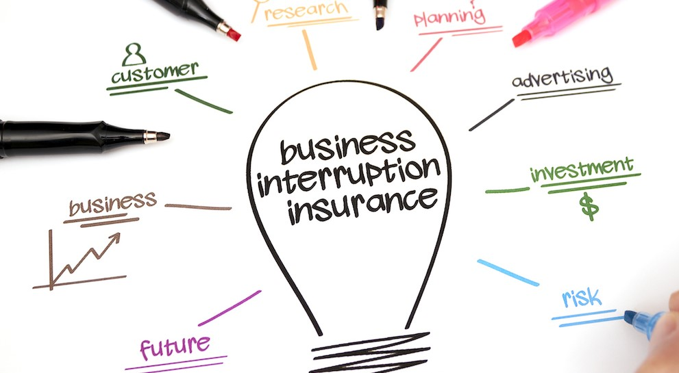 Business interruption- cover that's too big to cover- but needs to be next time
