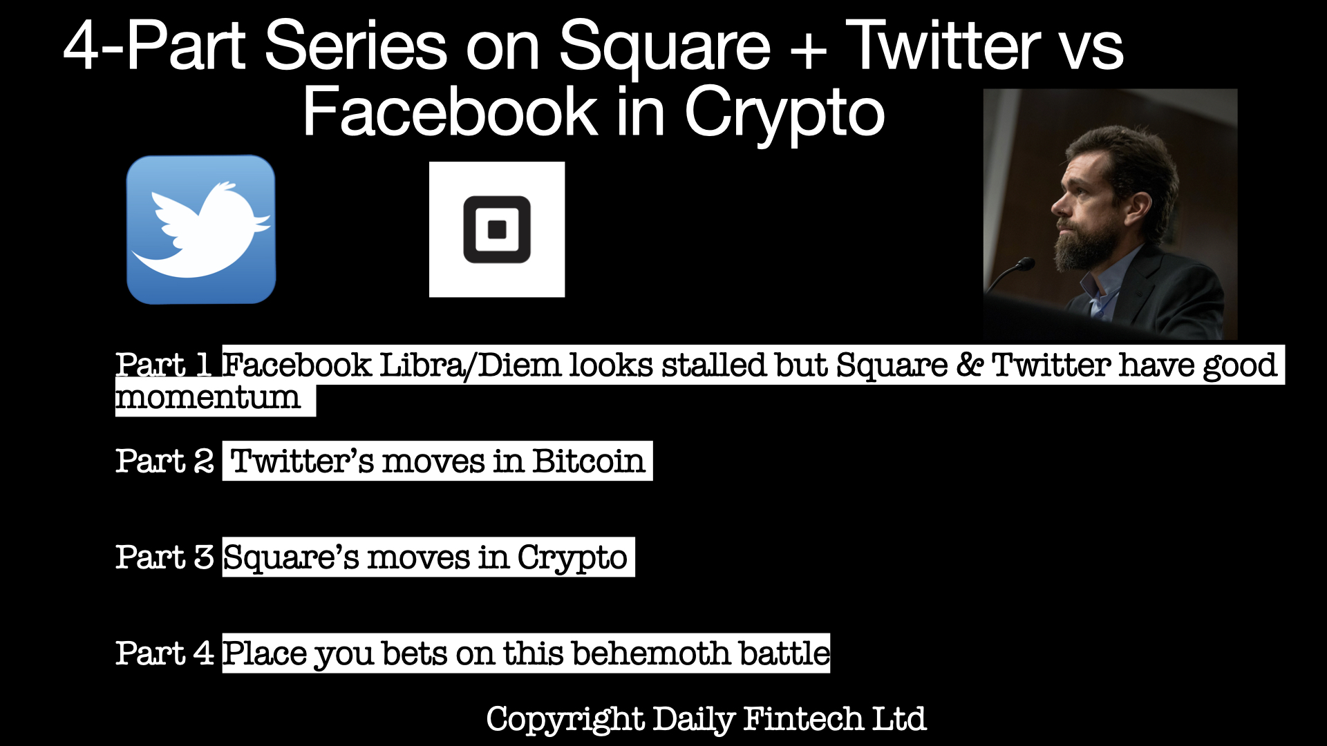 Part 20 Facebook Libra/Diem looks stalled but Square and Twitter ...
